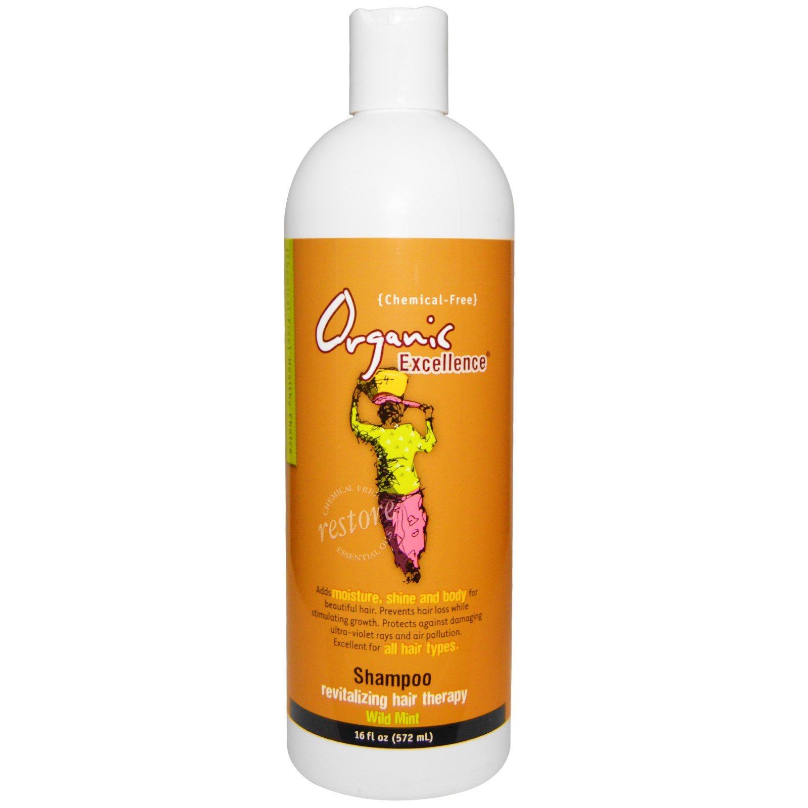 Organic Excellence Wild Mint Shampoo